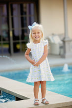 Fish Ruffle Dress