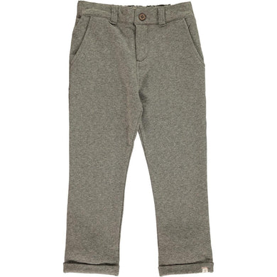 Grey Jersey Dress Pants