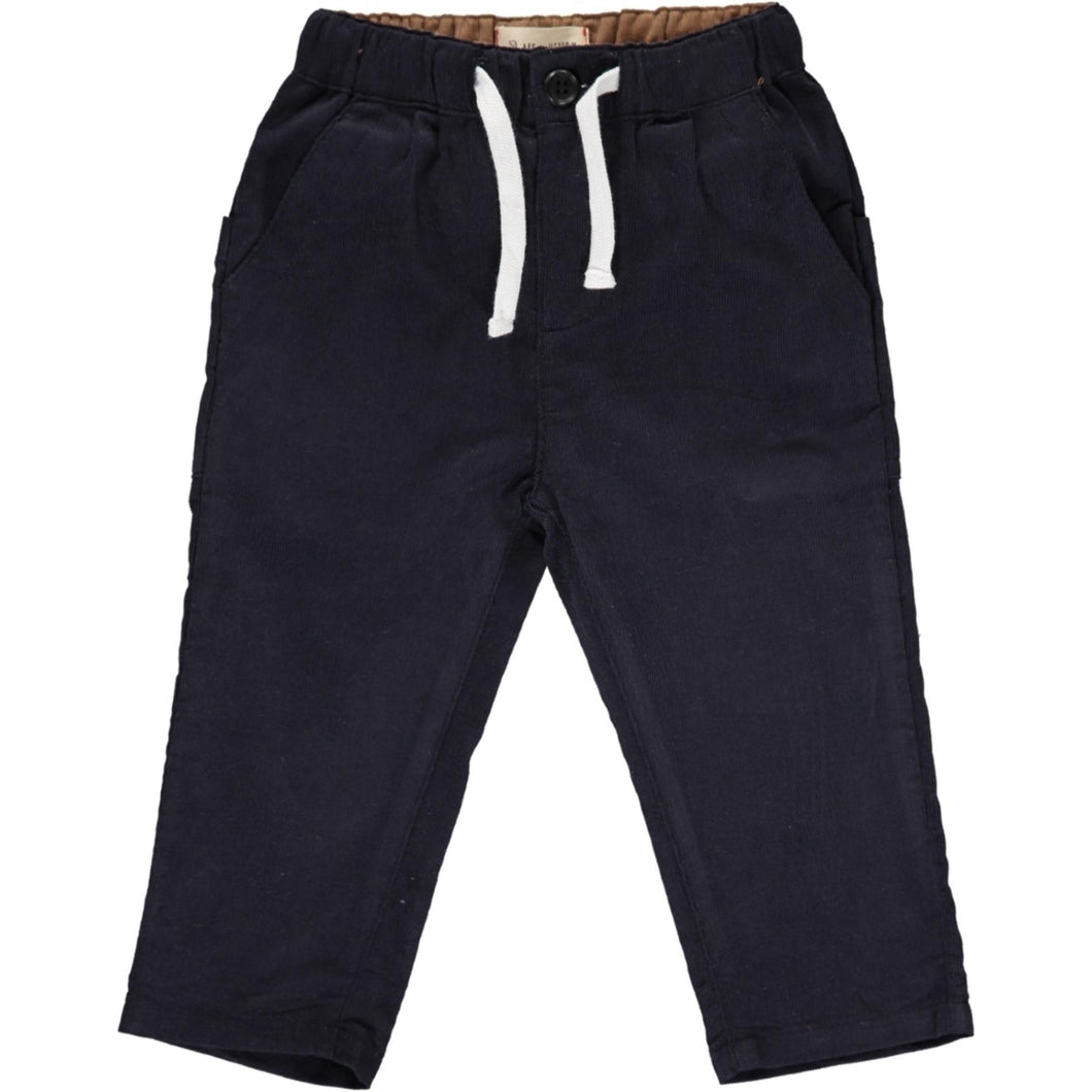 Lightweight Navy Corduroy Pants