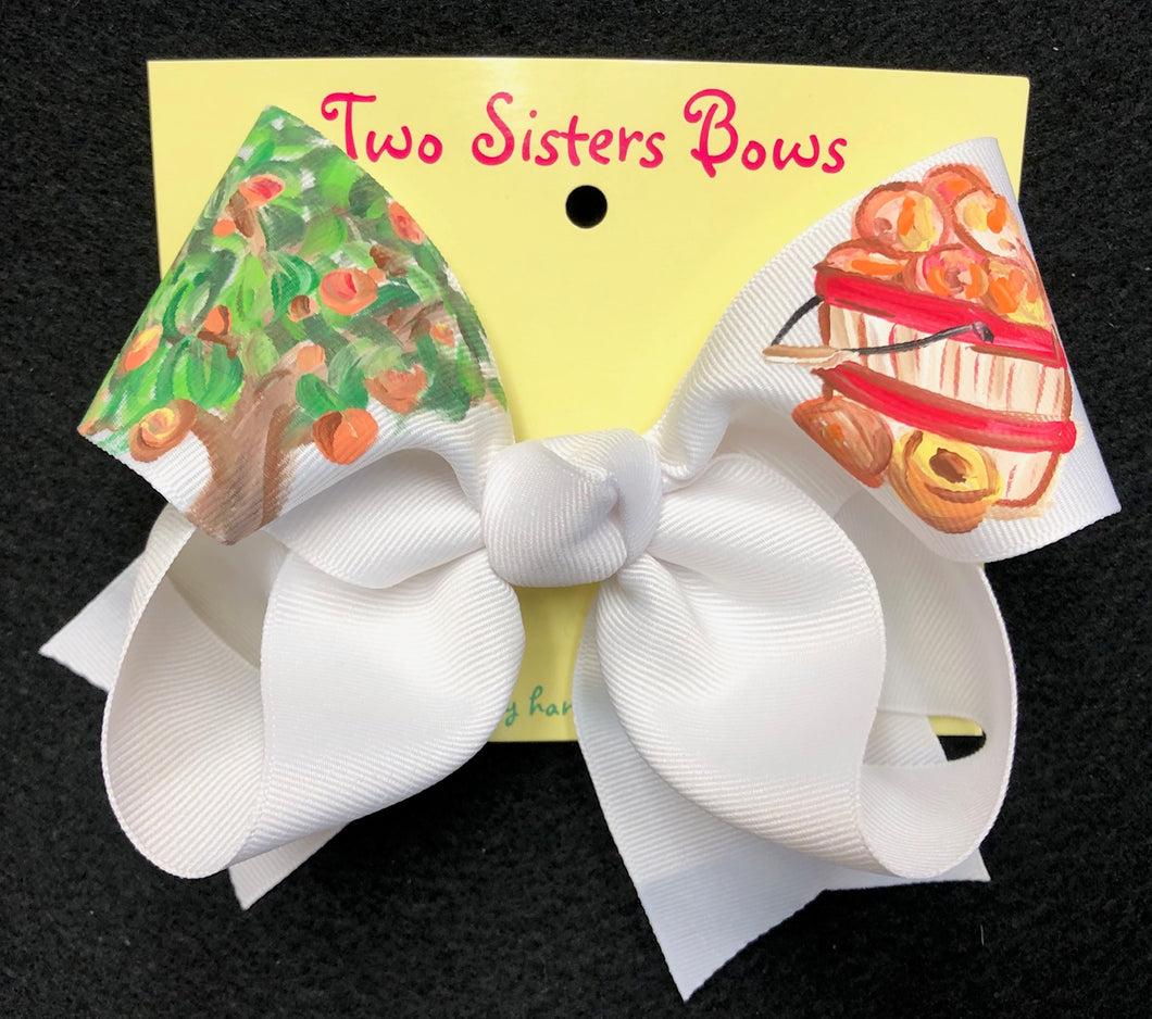 Two Sister Painted Bows