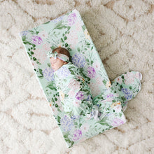 Erin Infant Swaddle and Headwrap Set
