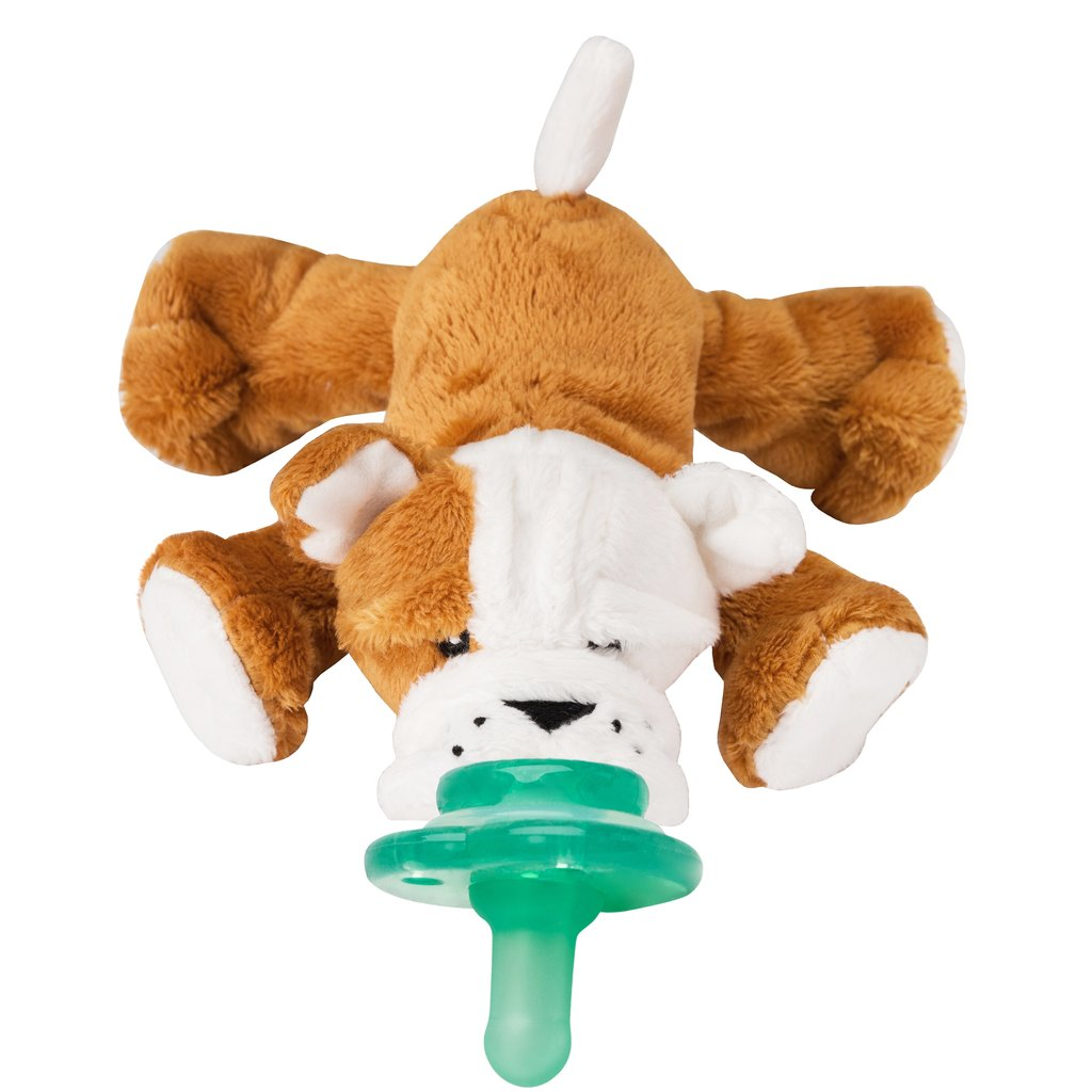 Barkley Bull Dog Paci-Plushies