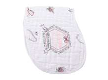 Burp Cloth/Bib 2-in-1  Southern Belle