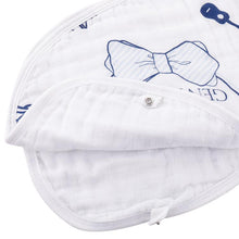 Burp Cloth/Bib 2-in-1 Southern Gentleman