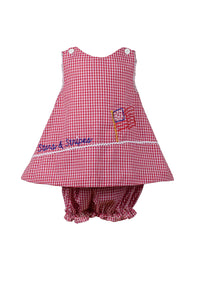 Stars And Stripes Bloomer Set