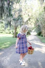 Tabitha's Teacher's Pet Dress in Planters Inn Plaid with Richmond Red