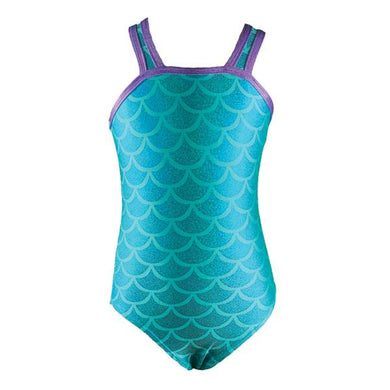 Aqua Mermaid Leotard