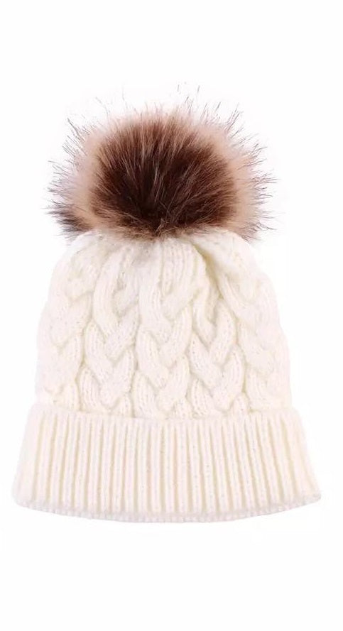 74d459f7b5a Mommy and Me Pom Pom Hat – fairytale friends