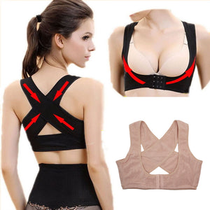 1PCS Women Chest Posture Corrector Support Belt Body Shaper Corset Shoulder Brace for Health Care Drop Shipping S/M/L/XL/XXL - Hothits