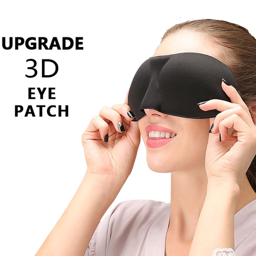 2019 Brandnew Upgrade 3D Sleep Eye Mask Good Shading Stereo Eye Cover Sleeping Mask Travel Rest Eye Band Eyepatch Blindfolds - Hothits