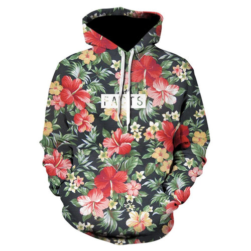 2019 New Fashion Men/Women Hoodies Print Flowers 3d Sweatshirts Hoody Thin Hooded Graphic Hoodies Pullover Tops