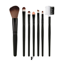 Load image into Gallery viewer, 7 Pcs Blending Brush Tool Wood Makeup Brush Brush Cosmetics pinceis de maquiagem - Hothits