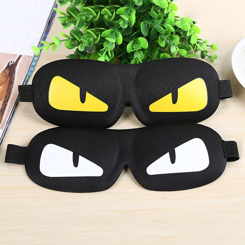 Cartoon Eye Mask For Sleep 3d Blackout Sleeping Mask Cute Patterns Sleeping Aid Travel Rest Breathable Blindfolds Better Sleep - Hothits