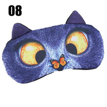 Load image into Gallery viewer, Cute Cat Sleep Mask Eye Mask Eyeshade Cover Shade Natural Sleeping Eye Patch Women Men Soft Portable Blindfold Travel Eyepatch - Hothits