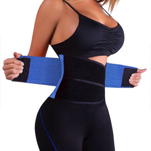 Dropshipping Waist Trainer Cincher Man Women Xtreme Thermo Power Hot Body Shaper Girdle Belt Underbust Control Corset Firm - Hothits
