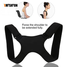 Load image into Gallery viewer, New Spine Posture Corrector Protection Back Shoulder Posture Correction Band Humpback Back Pain Relief Corrector Brace - Hothits