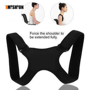 New Spine Posture Corrector Protection Back Shoulder Posture Correction Band Humpback Back Pain Relief Corrector Brace - Hothits