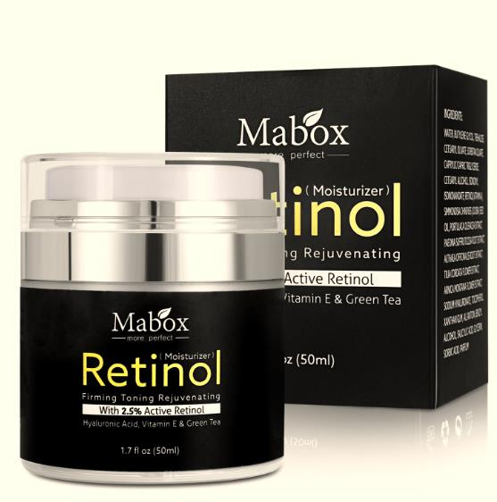 Retinol 2.5% Moisturizer Cream for Face and Eye Hyaluronic Acid Vitamin E Best Night and Day Moisturizing CC Cream Drop Ship