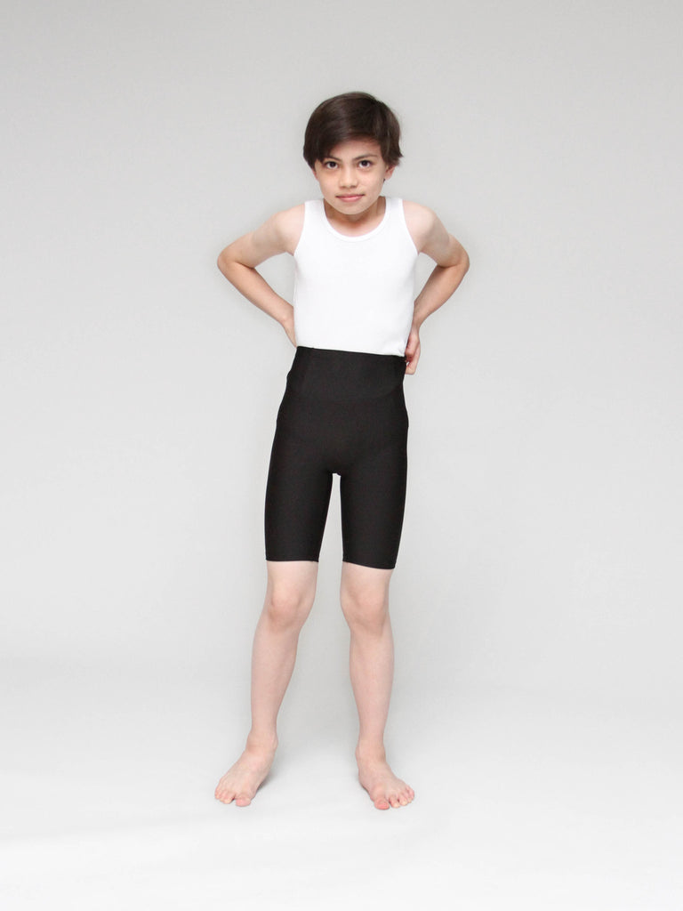952f10db3 High Waist Dance Shorts - BOYS – boysdancetoo. - the dance store ...