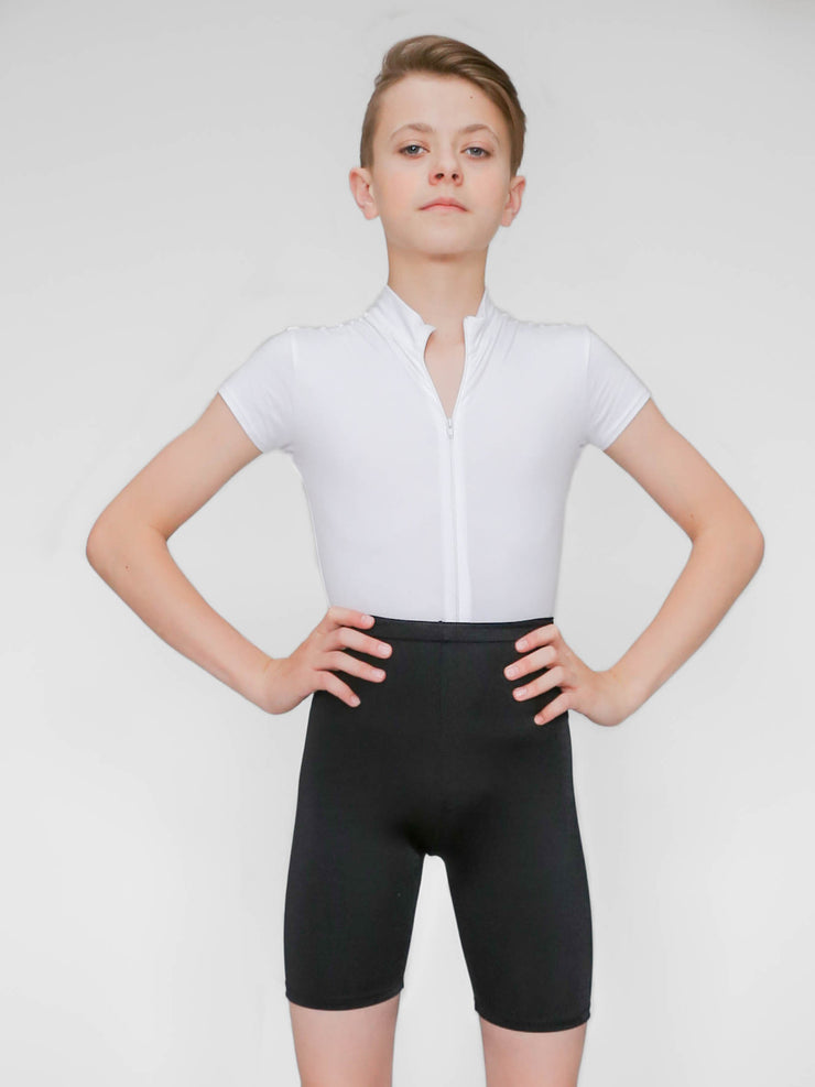 Boys' Tricot dance shorts for ballet or jazz by boysdancetoo the dance store for men