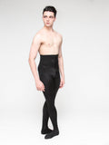 Men's Tricot Black Footed Ballet tights by boysdancetoo. Instead of MStevens Dance Tights, try these!