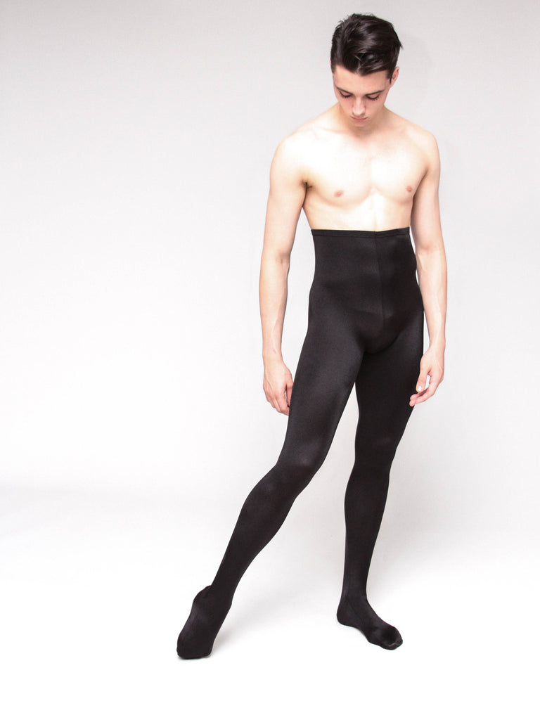 Tricot Footed Tights - MENS