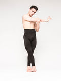 Tricot Footless Dance Tights for men at boysdancetoo the dance store for men. If you like MStevens ballet tights try these!