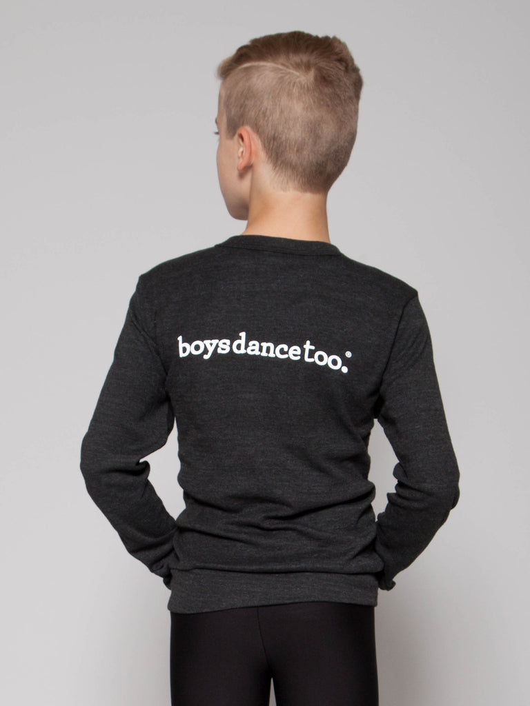 Boys' featured photo for boys' dance cardigan. Stay warm in ballet and look sharp! Boys dance too cardigan is great for in and out of dance class, ballet barre or at dance competitions.