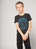 Boys' featured photo for boys' dance tee.  Boys dance too dance tshirt perfect for in and out of dance class. Great gift for male dancers, ballet dancers, dance enthusiasts!