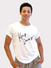 Keep Dancing tee shirt by boysdancetoo the dance store for men