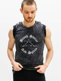 Blood, Sweat and Splits Mineral Wash Tee - MENS