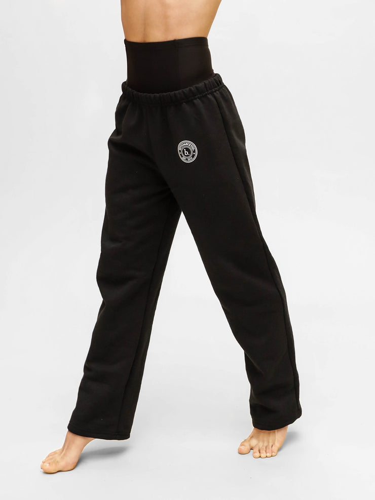 boys sweat pants for boy dancers being modeled by Devin Trey Campbell from ABC's Single Parents for boysdancetoo the dance store for men