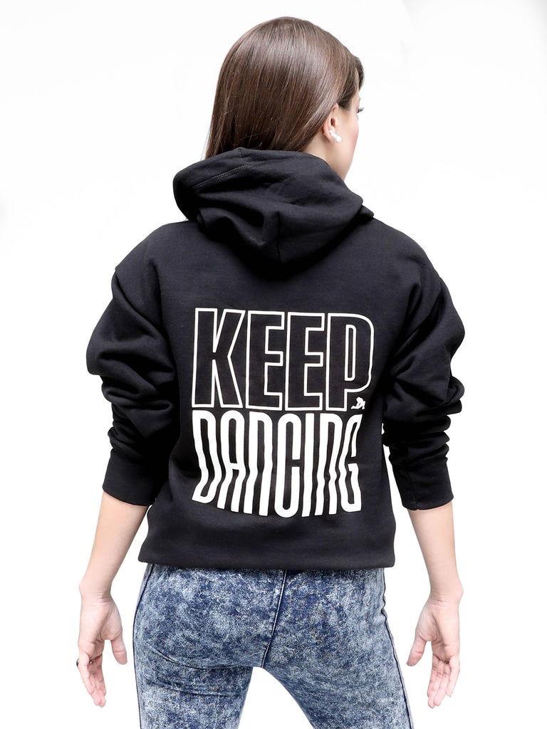 Keep Dancing Zip Hoody