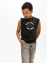 Devin Trey Campbell models boys dance t-shirt by boysdancetoo the dance store for men