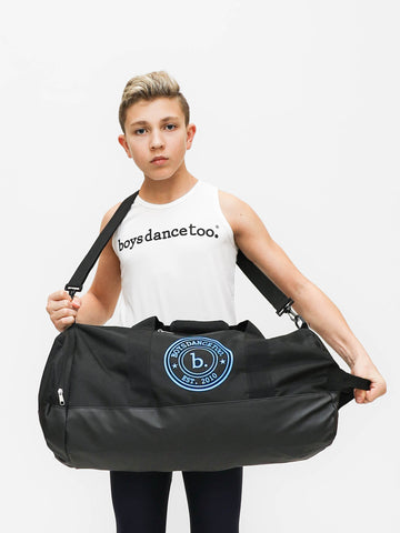 Boys dance duffle at boysdancetoo the dance store for men