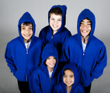 Boys' dancewear hooded sweatshirt. Great warm-up piece of boys' dance apparel for dance class or competitions.