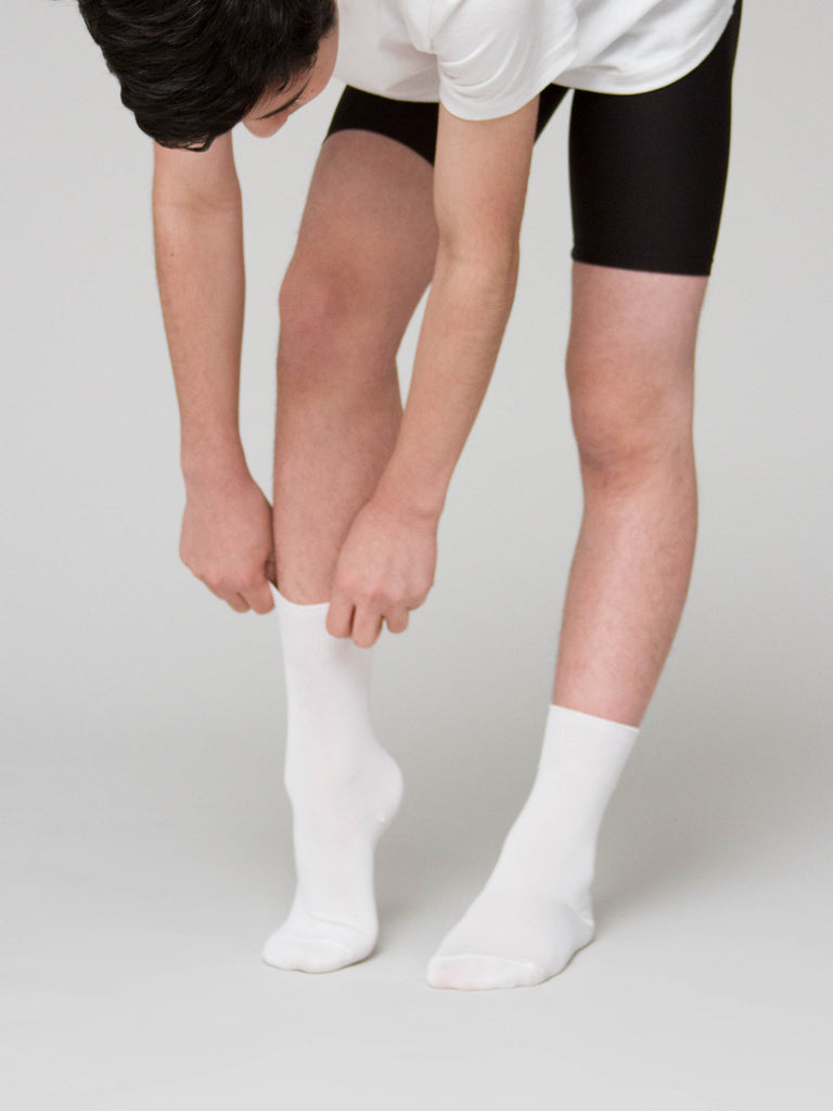 Boys ballet socks for ballet uniforms, ABT, SAB, RAD