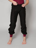 Drawstring Knit Pants with Elastic Ankle - MENS