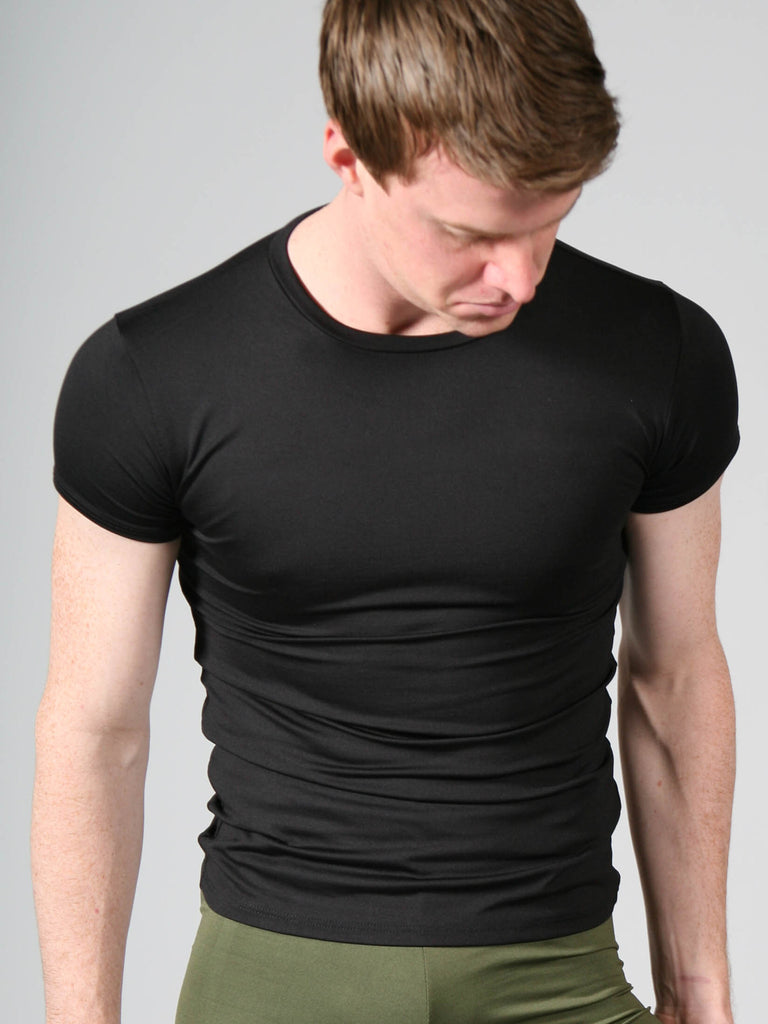 Silkskyn Fitted Stretch Tee - MENS