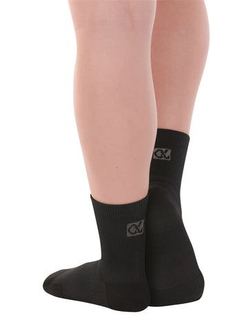 Performance Shocks Medium Compression Dance Socks w/ Traction