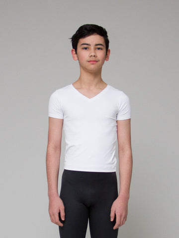 Performance Stretch V-Neck - BOYS