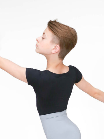Wearmoi crew neck leotard with dance belt, the milton, at boysdancetoo the dance store for men