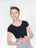Crew Neck Leo w/ Built in Dance Belt - BOYS