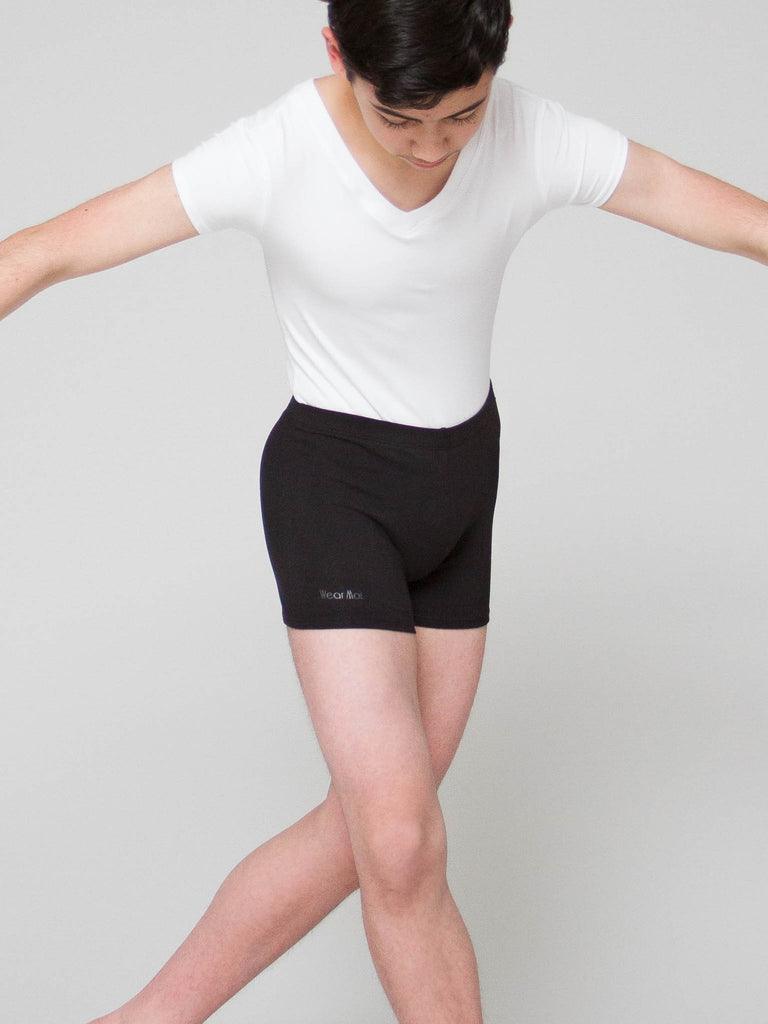Cotton dance shorts for boys by wearmoi at boys dance too the dance store for men