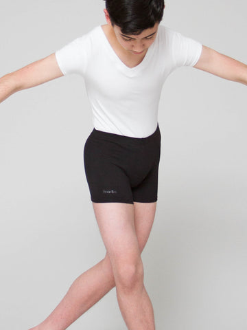 Lowrise Cotton Dance Shorts - BOYS