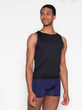 Sleeveless Top with Mesh Back - MENS