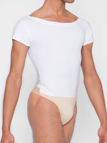 Wearmoi crew neck leotard with dance belt for men, the milton, at boysdancetoo the dance store for men