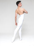 Patrick Frenette of American Ballet Theater modeling Microfiber footed dance tights for men by WearMoi at boysdancetoo the dance store for men