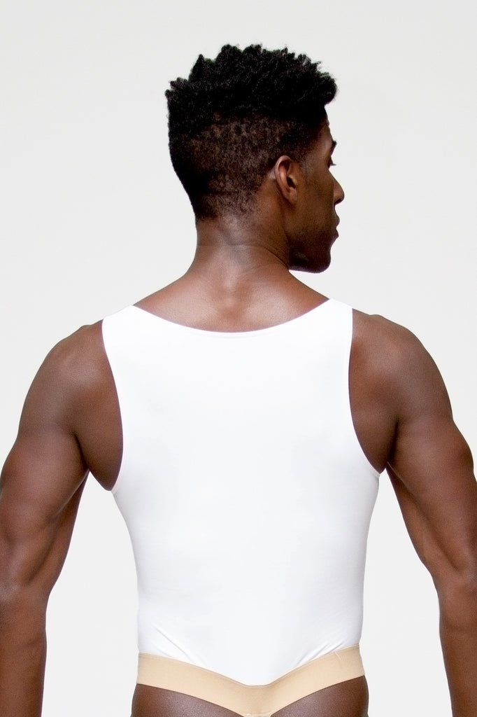 Versao tank leotard with dance belt for men by WearMoi, for boysdancetoo the dance store for men