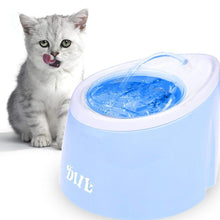 Load image into Gallery viewer, Pet Automatic Water Fountain with LED Light